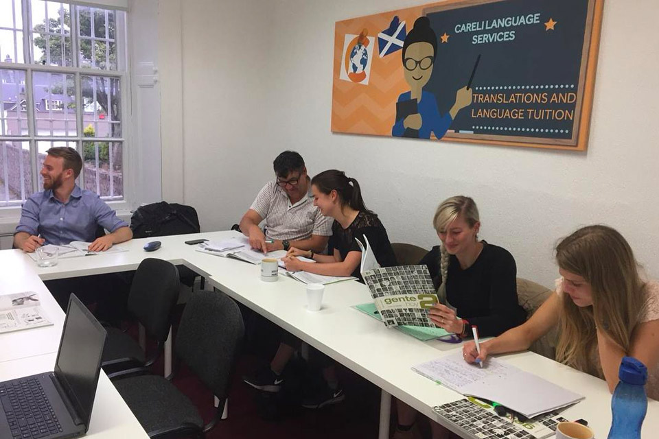 Spanish classes Aberdeen